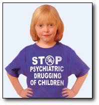 stop psychiatric drugging of children