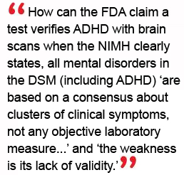 Brain Test To Diagnose Adhd Is Approved >> Fda Brain Test For Adhd Is Not Based On Science Cchr