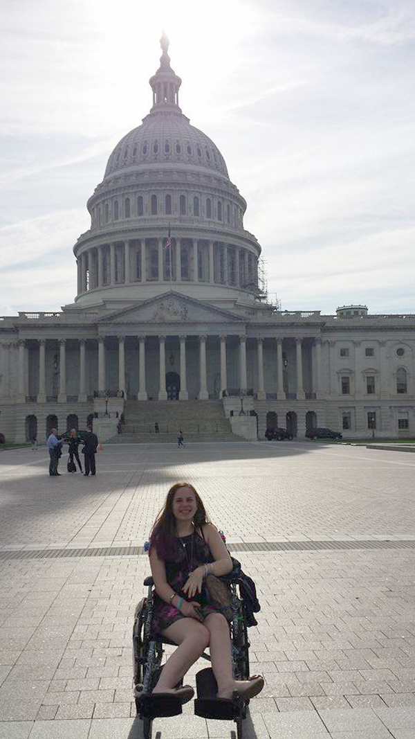 Photo courtesy Miracle for JustinaJustina Pelletier goes to Washington.