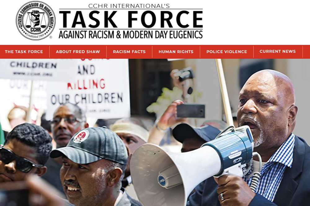 """CCHR & Racism Task Force Support Moves to Ban Restraint Chokeholds & """"Warrior Training"""""""